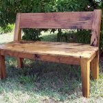 40 Awesome DIY Outdoor Bench Ideas For Backyard And Front Yard Garden (11)