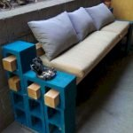 40 Awesome DIY Outdoor Bench Ideas For Backyard And Front Yard Garden (12)