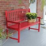 40 Awesome DIY Outdoor Bench Ideas For Backyard And Front Yard Garden (15)