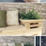 40 Awesome DIY Outdoor Bench Ideas For Backyard And Front Yard Garden (23)