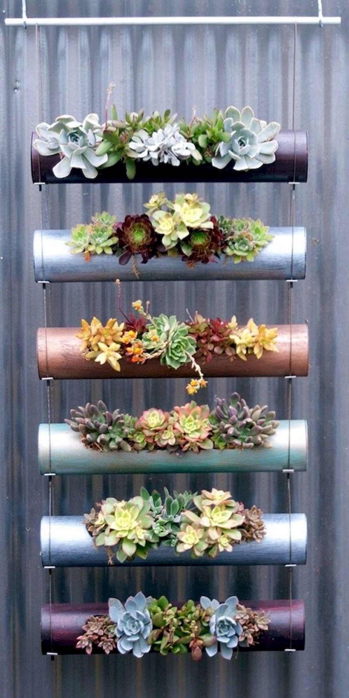 44 Creative DIY Vertical Garden Ideas To Make Your Home Beautiful (20)