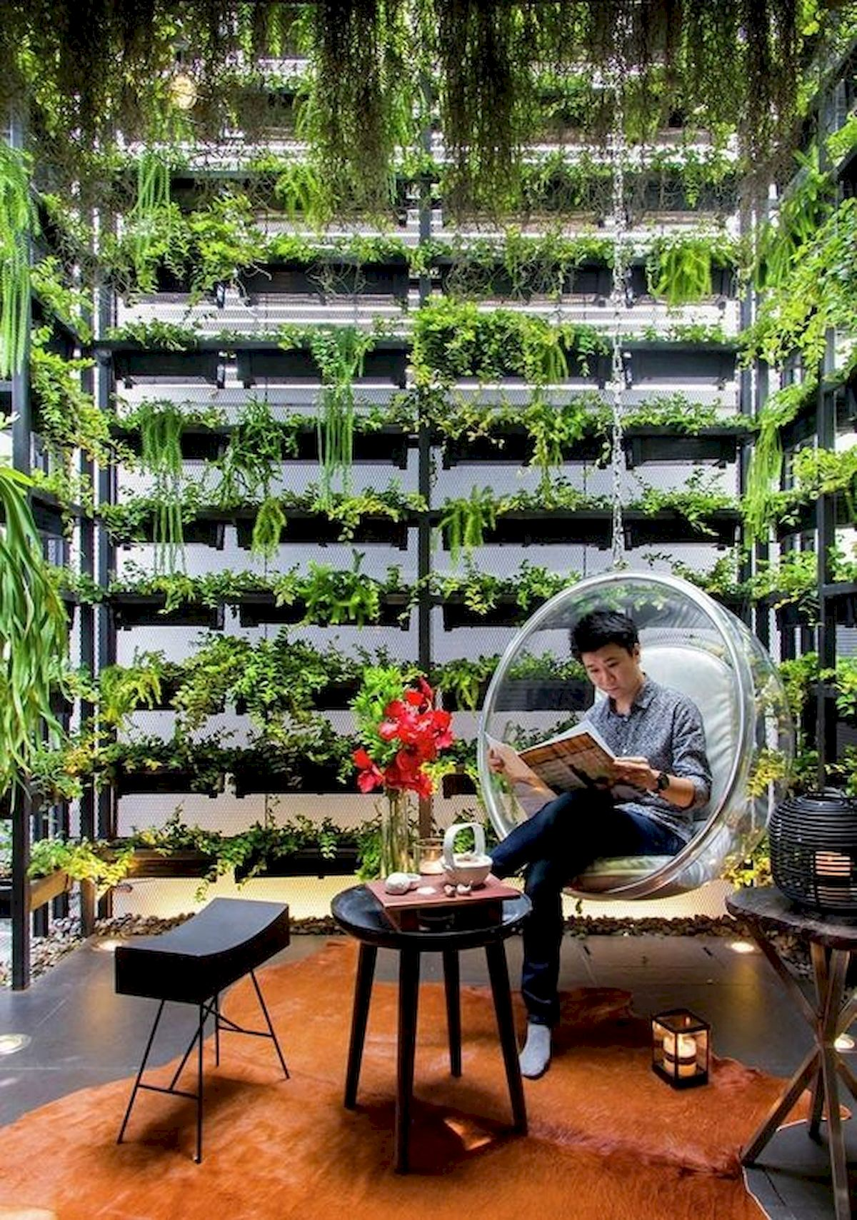 44 Creative DIY Vertical Garden Ideas To Make Your Home Beautiful (6)