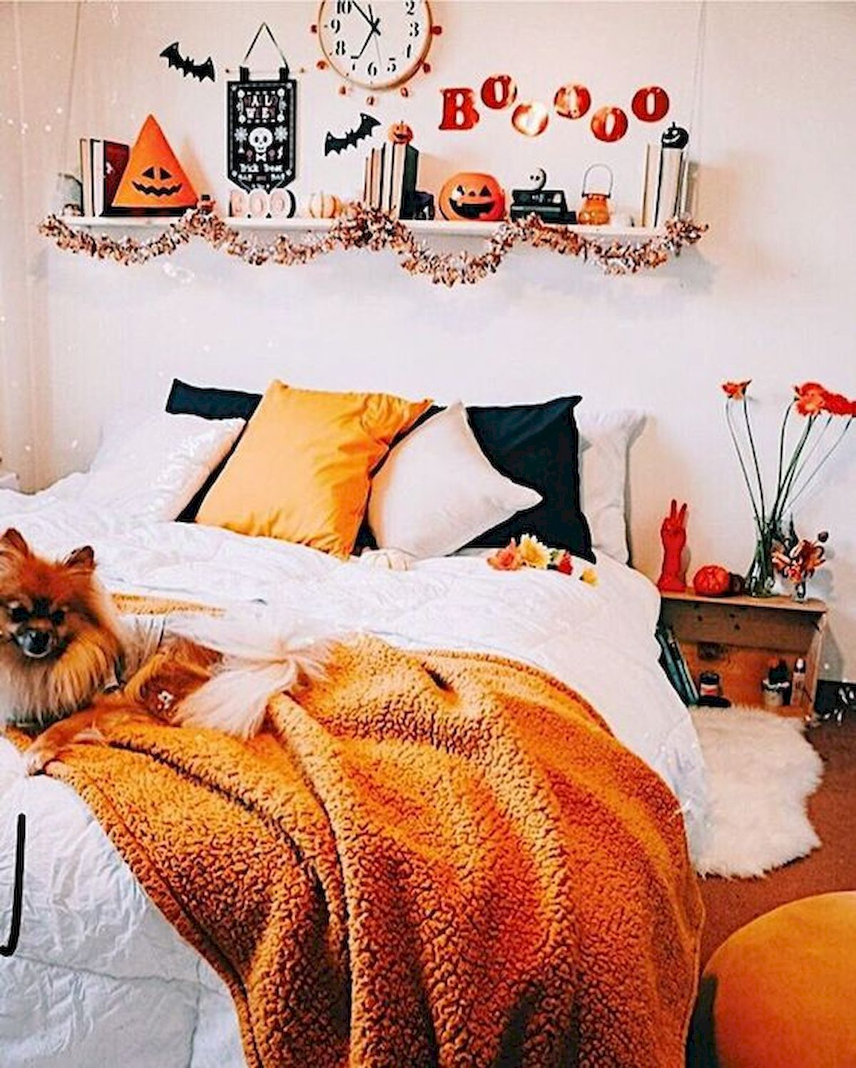 30 Awesome DIY Fall Decoration Ideas For Your Bedroom (10)
