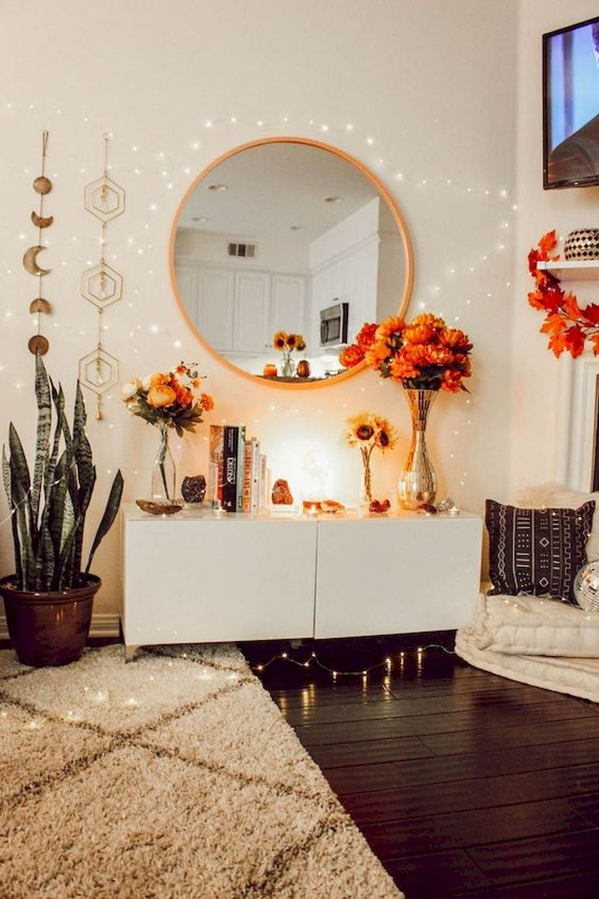 30 Awesome DIY Fall Decoration Ideas For Your Bedroom (18)