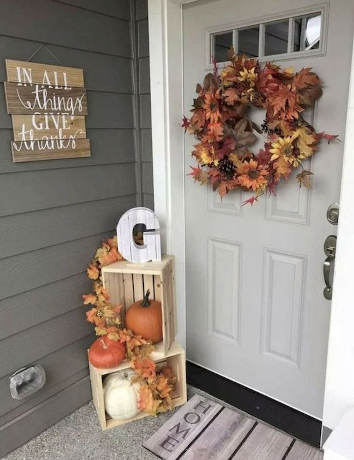 40 Fantastic DIY Fall Front Porch Decorating Ideas (12)
