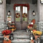 40 Fantastic DIY Fall Front Porch Decorating Ideas (8)