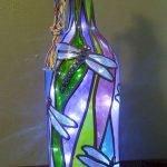 40 Fantastic DIY Wine Bottle Crafts Ideas With Lights (12)