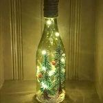 40 Fantastic DIY Wine Bottle Crafts Ideas With Lights (14)