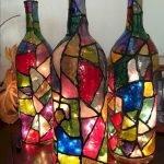 40 Fantastic DIY Wine Bottle Crafts Ideas With Lights (16)