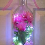 40 Fantastic DIY Wine Bottle Crafts Ideas With Lights (18)