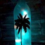 40 Fantastic DIY Wine Bottle Crafts Ideas With Lights (19)
