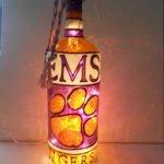 40 Fantastic DIY Wine Bottle Crafts Ideas With Lights (2)