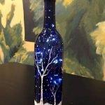 40 Fantastic DIY Wine Bottle Crafts Ideas With Lights (23)