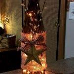 40 Fantastic DIY Wine Bottle Crafts Ideas With Lights (29)