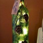 40 Fantastic DIY Wine Bottle Crafts Ideas With Lights (3)