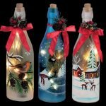 40 Fantastic DIY Wine Bottle Crafts Ideas With Lights (31)