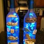 40 Fantastic DIY Wine Bottle Crafts Ideas With Lights (33)