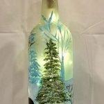 40 Fantastic DIY Wine Bottle Crafts Ideas With Lights (5)