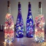40 Fantastic DIY Wine Bottle Crafts Ideas With Lights (8)