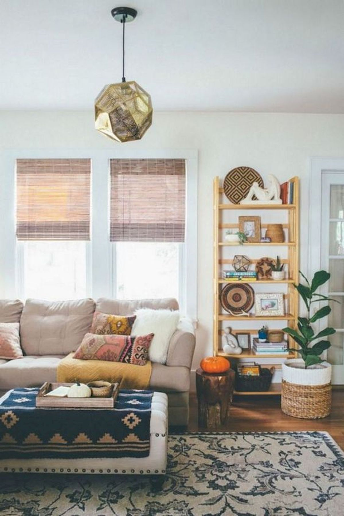 40 Gorgeous DIY Fall Decoration Ideas For Living Room (3)