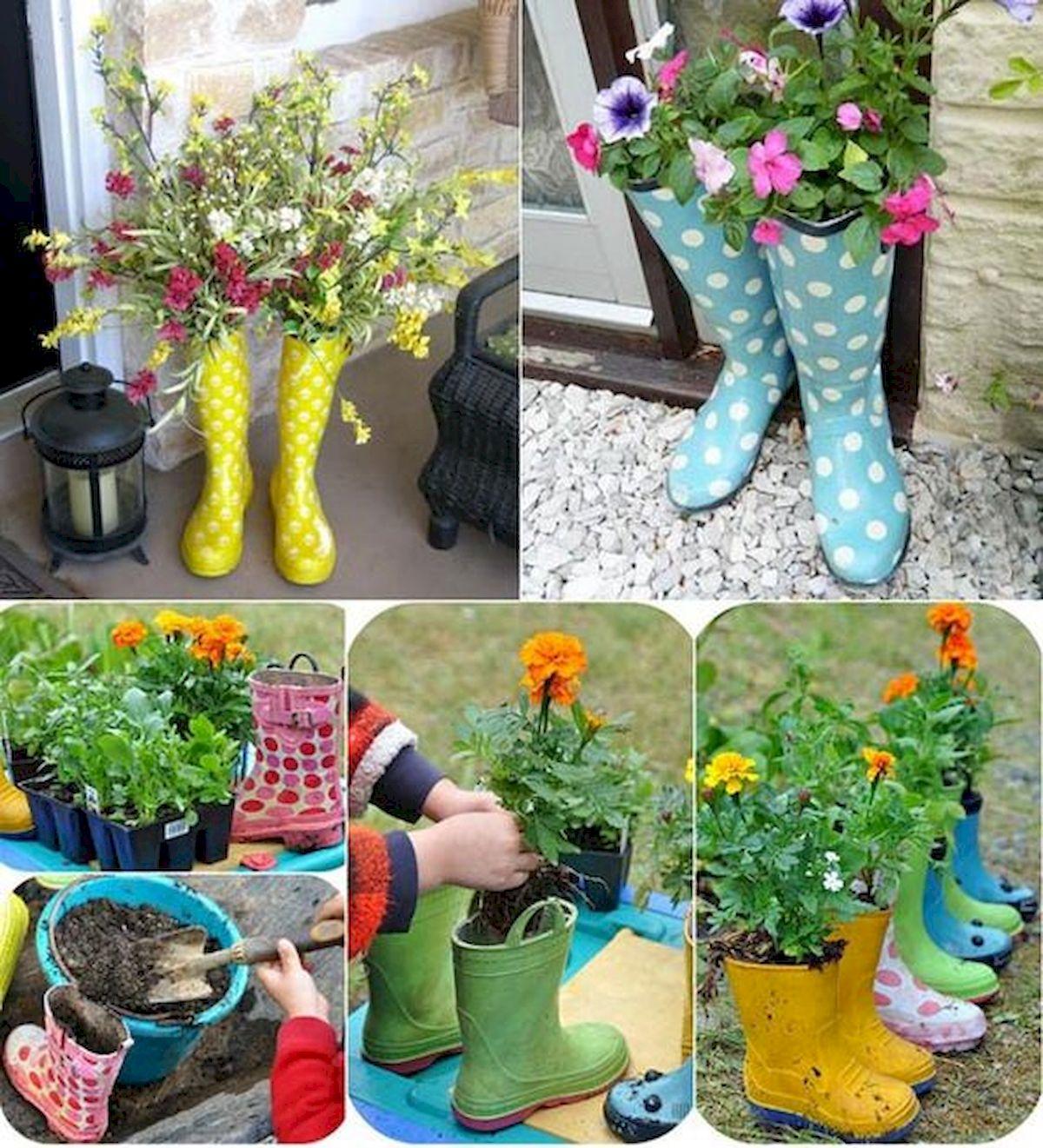 20 Fantastic DIY Planter Ideas for Your Front Porch (1)