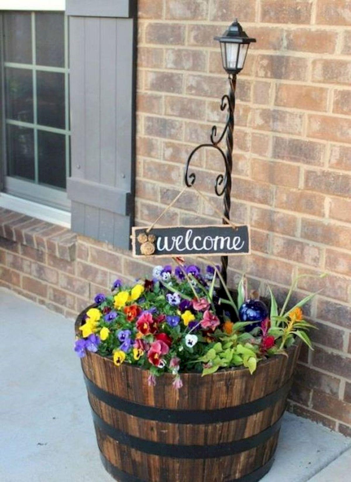 20 Fantastic DIY Planter Ideas for Your Front Porch (8)