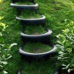25 Creative DIY Garden Decoration Ideas Using Old Tires (13)
