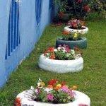 25 Creative DIY Garden Decoration Ideas Using Old Tires (16)