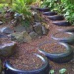 25 Creative DIY Garden Decoration Ideas Using Old Tires (2)