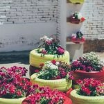 25 Creative DIY Garden Decoration Ideas Using Old Tires (23)