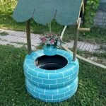 25 Creative DIY Garden Decoration Ideas Using Old Tires (25)