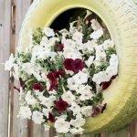 25 Creative DIY Garden Decoration Ideas Using Old Tires (6)