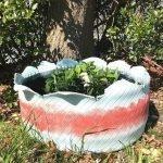 25 Creative DIY Garden Decoration Ideas Using Old Tires (9)
