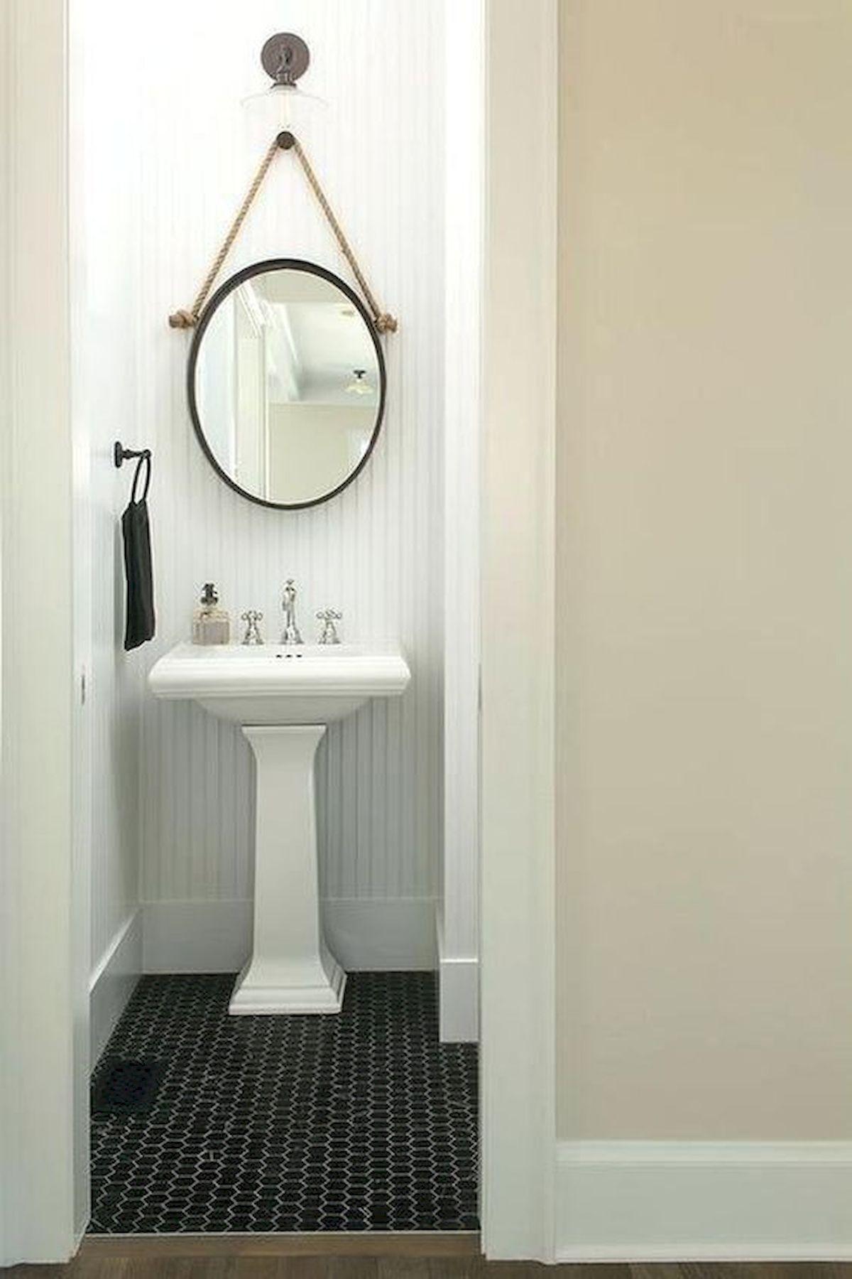26 Easy and Creative DIY Mirror Ideas To Decorate Your Bathroom (19)