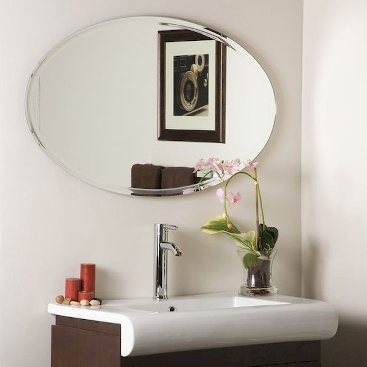 26 Easy and Creative DIY Mirror Ideas To Decorate Your Bathroom (21)