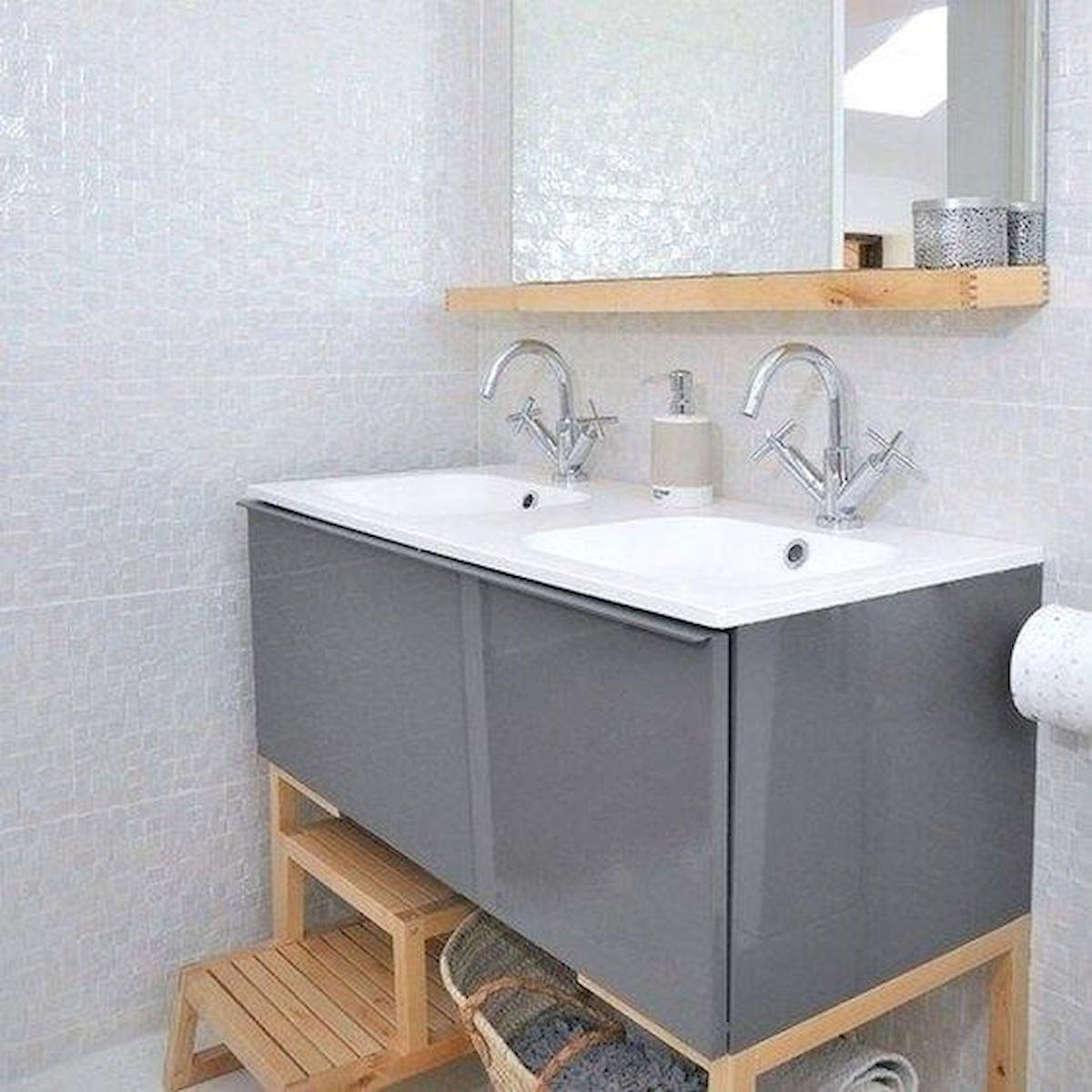 26 Easy and Creative DIY Mirror Ideas To Decorate Your Bathroom (4)