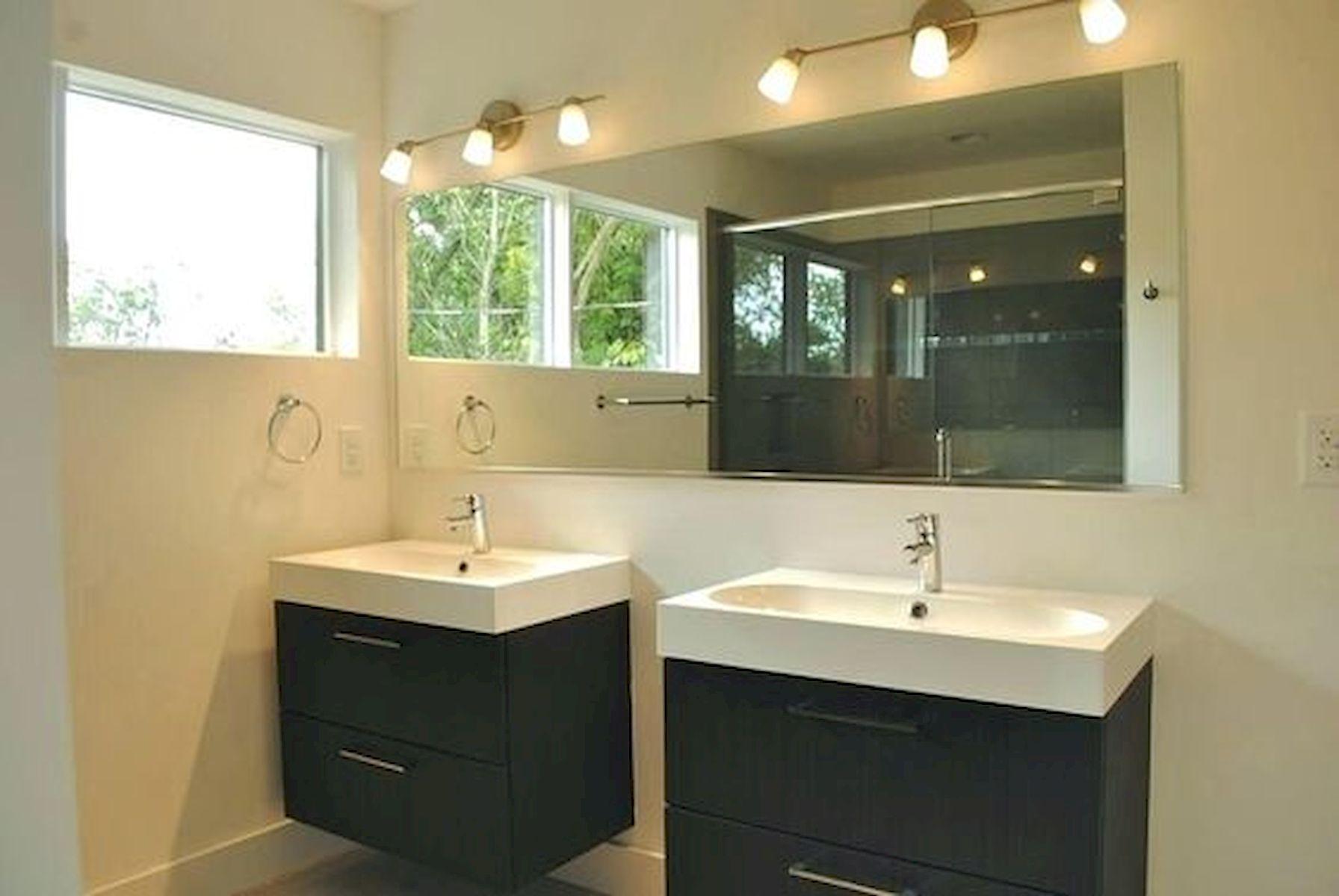 26 Easy and Creative DIY Mirror Ideas To Decorate Your Bathroom (7)