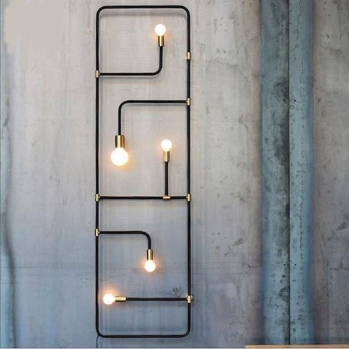 30 Creative DIY Industrial Design Ideas for Wall Decor (4)