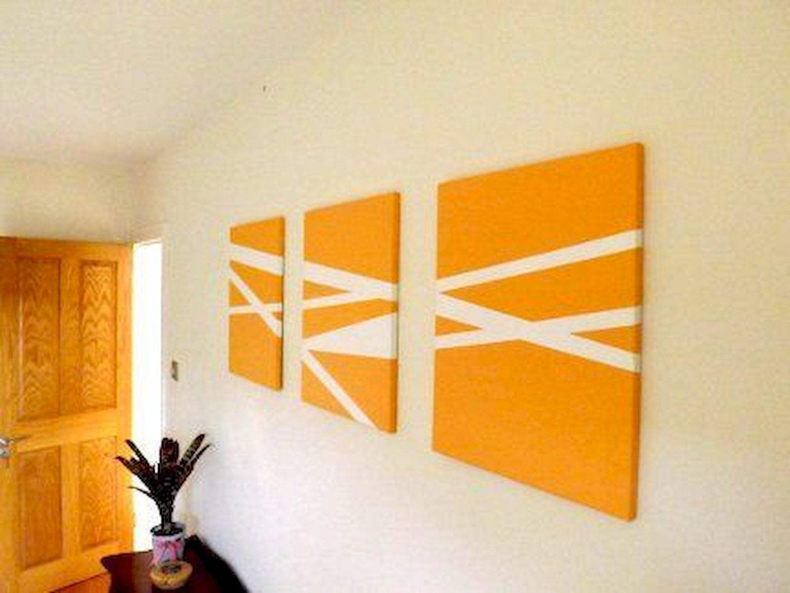 30 Easy and Creative DIY Wall Art Ideas For Decoration (17)