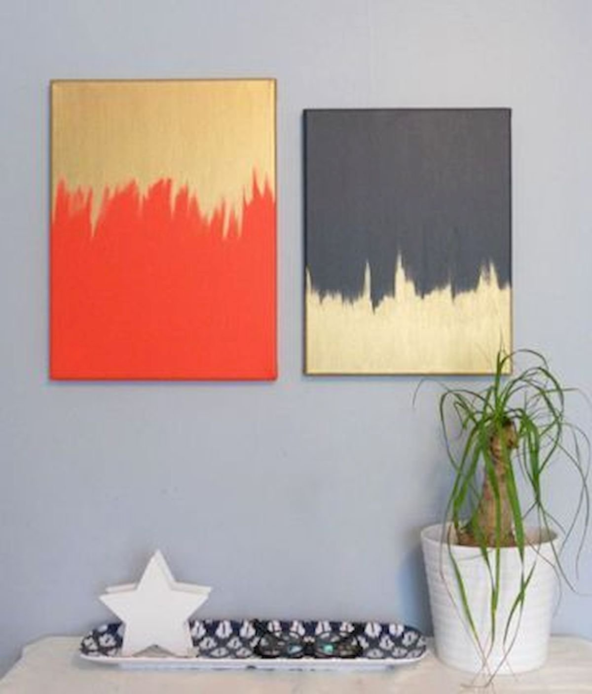30 Easy and Creative DIY Wall Art Ideas For Decoration (18)