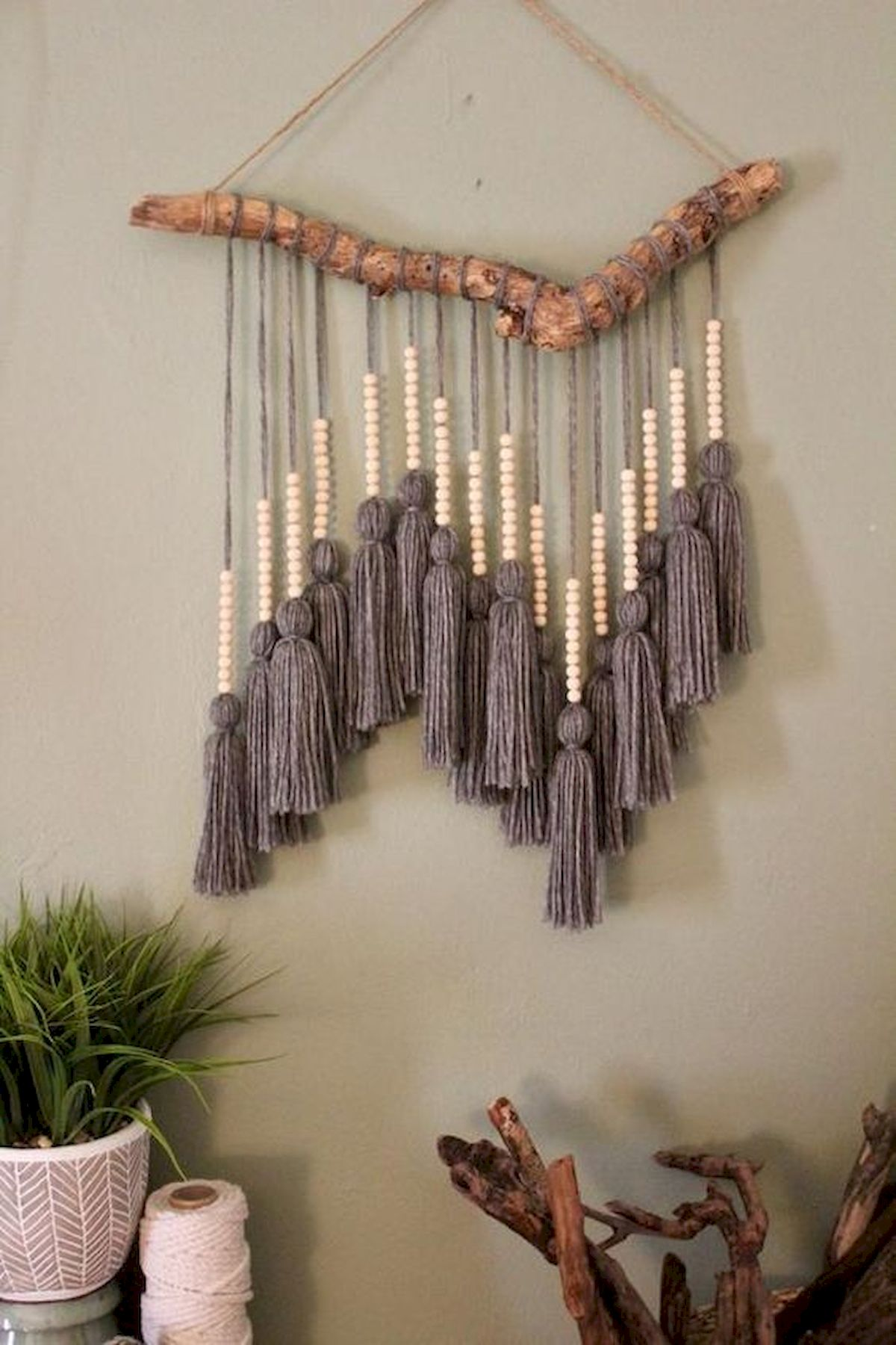 30 Easy and Creative DIY Wall Art Ideas For Decoration (22)