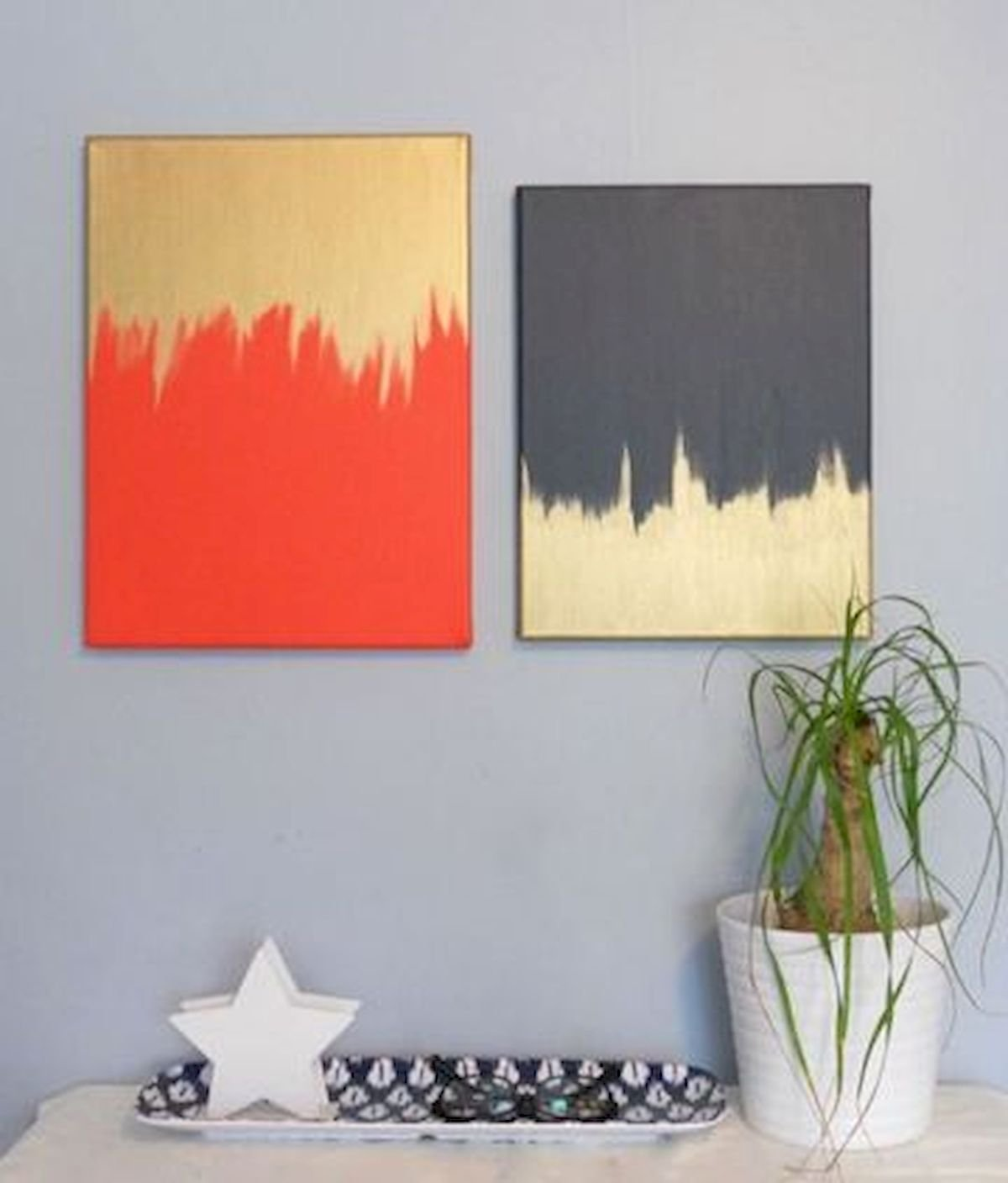 30 Easy and Creative DIY Wall Art Ideas For Decoration (23)