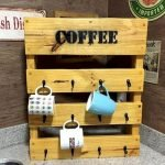 35 Easy DIY Wooden Pallet Mug Rack Ideas Everyone Can Do This (3)