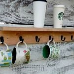 35 Easy DIY Wooden Pallet Mug Rack Ideas Everyone Can Do This (34)