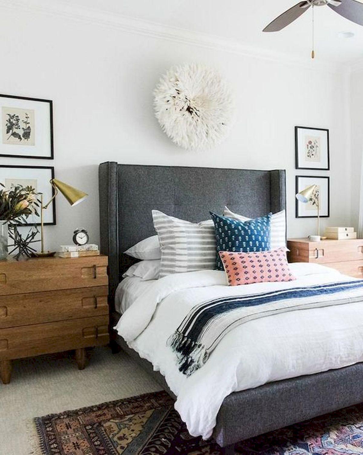 40 Fantastic DIY Decor Ideas For Farmhouse Boho Bedroom Design (10)