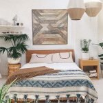 40 Fantastic DIY Decor Ideas For Farmhouse Boho Bedroom Design (17)