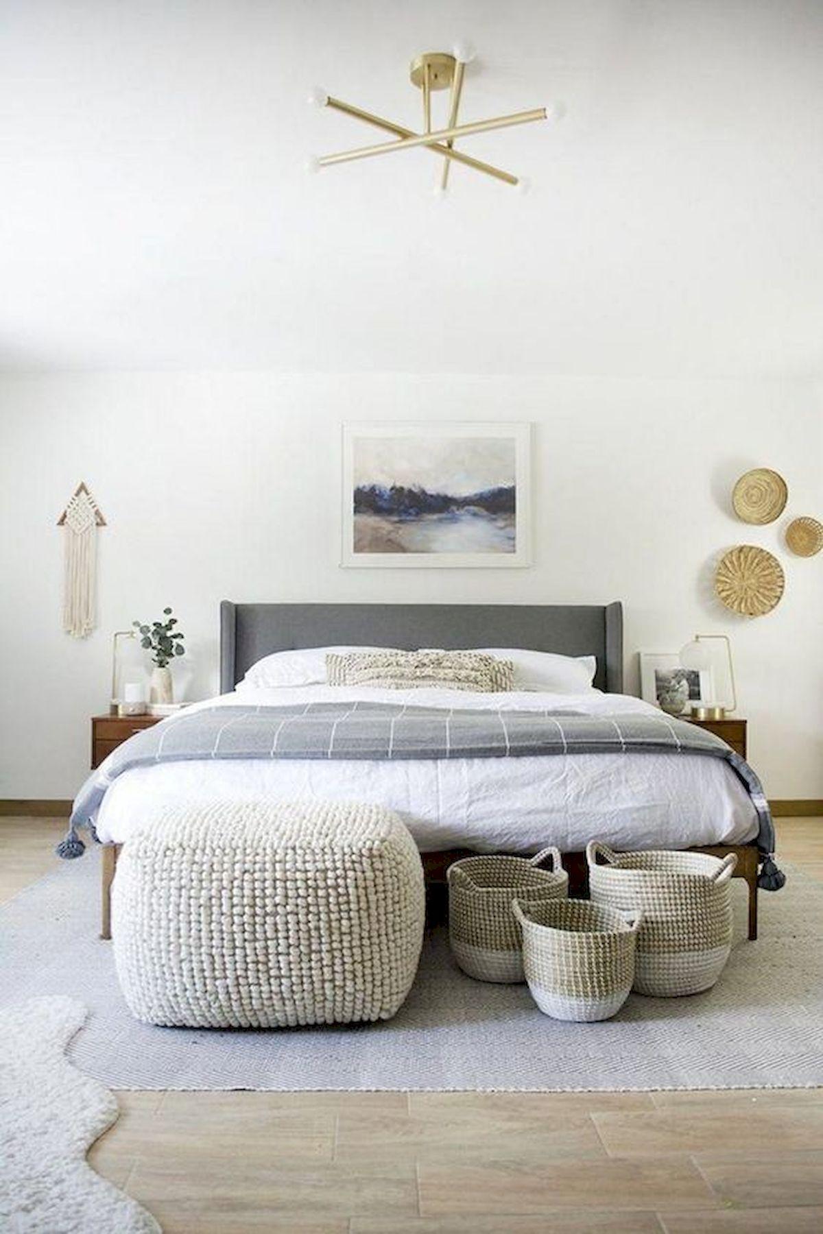 40 Fantastic DIY Decor Ideas For Farmhouse Boho Bedroom Design (18)