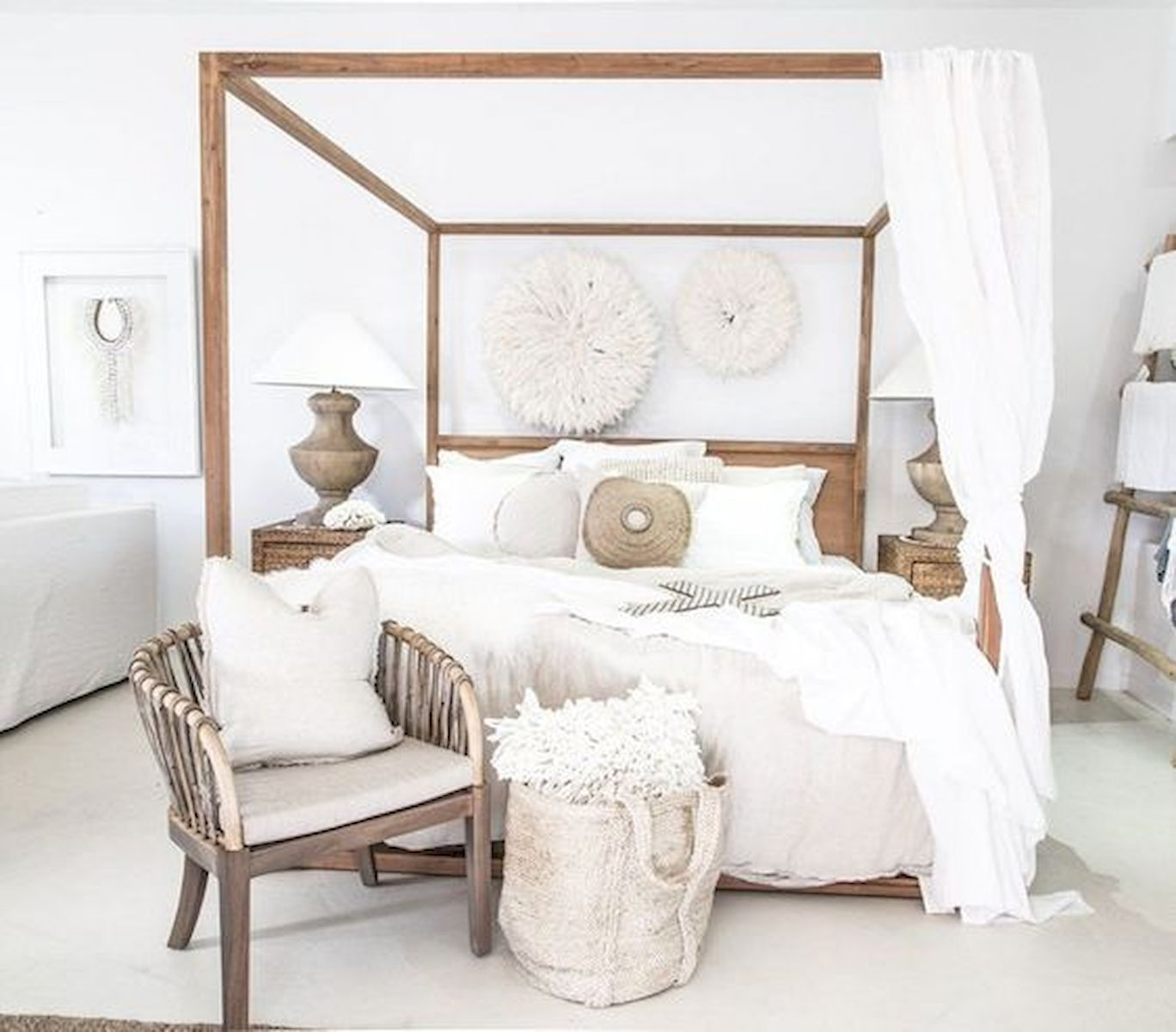 40 Fantastic DIY Decor Ideas For Farmhouse Boho Bedroom Design (21)