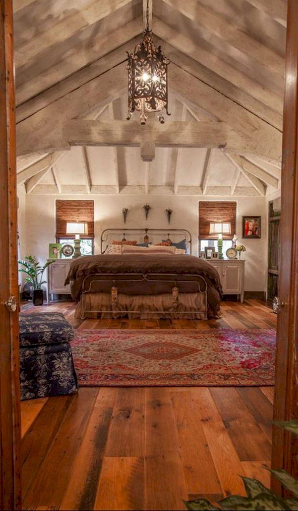 40 Fantastic DIY Decor Ideas For Farmhouse Boho Bedroom Design (35)