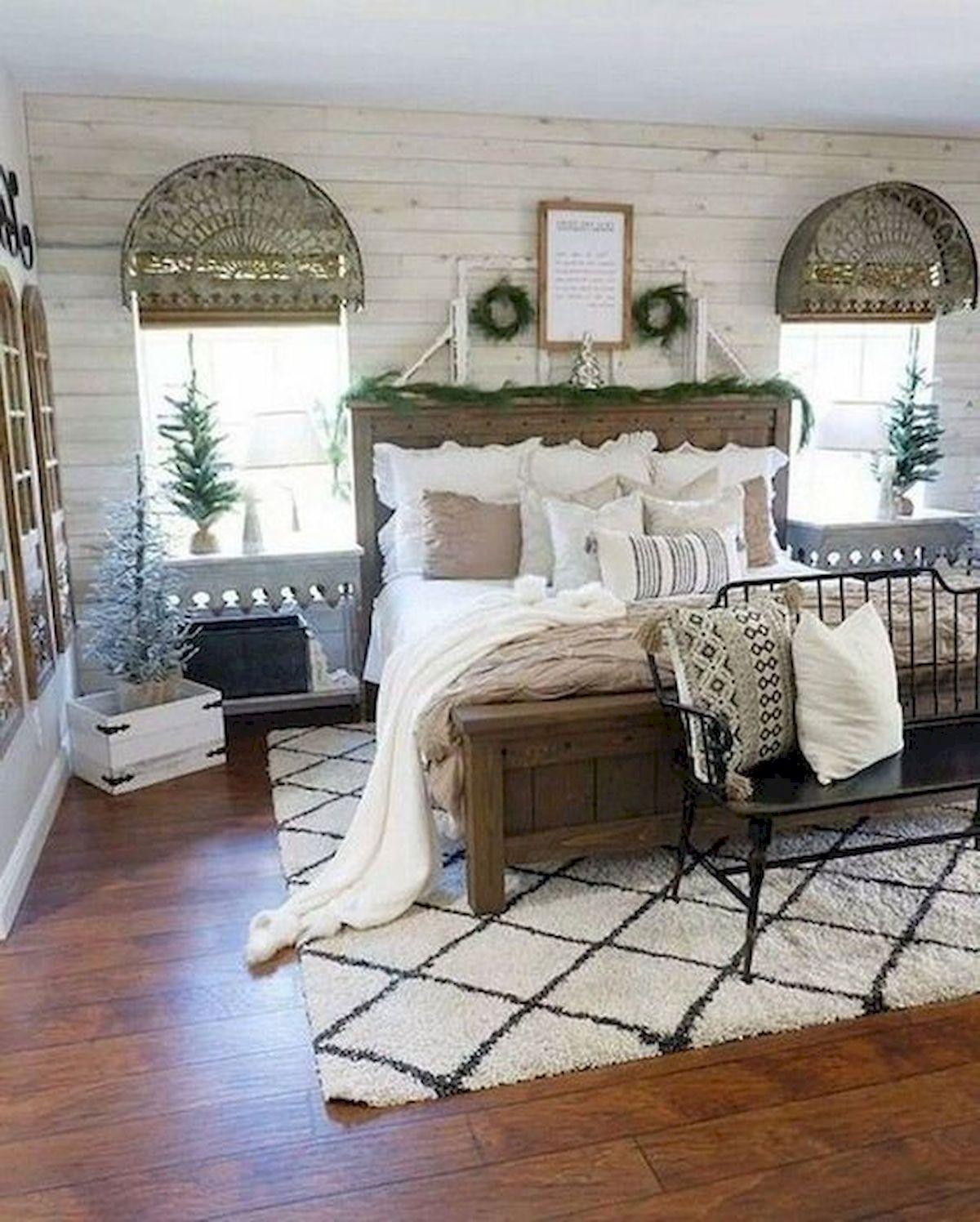 40 Fantastic DIY Decor Ideas For Farmhouse Boho Bedroom Design (39)